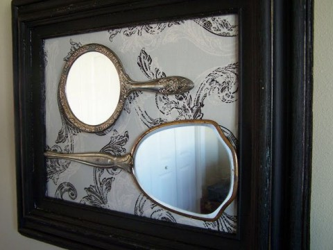 Mirrors wooden